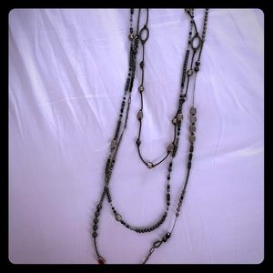 Triple strand Silpada necklace